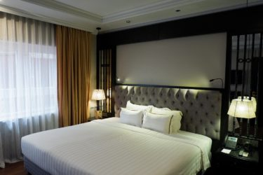Executive room double bed
