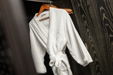 junior suite room bathrobes and closet