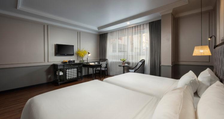 premium room old quarter view hanoi
