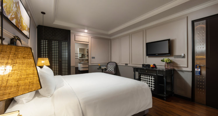 Deluxe budget room double bed