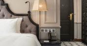 suite balcony room bespoke bedhead