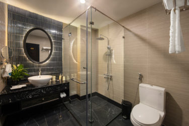 executive room with walk-in shower in hanoi