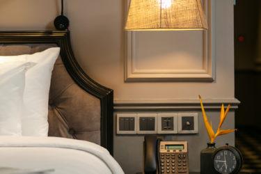 imperial suite room bespoke bedhead