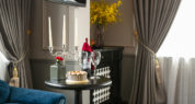 imperial suite room with city view and honeymoon amenities