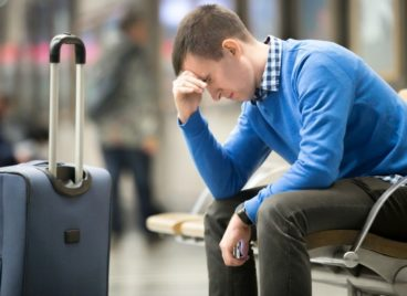 man cheated by airport scams