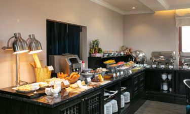 buffet area display